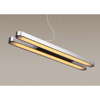 MAXLIGHT P0051 | Sparta Maxlight visiace svietidlo 2x G5 / T5 leštený hliník