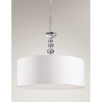 MAXLIGHT P0061 | EleganceM Maxlight visiace svietidlo 4x E27 chróm, biela