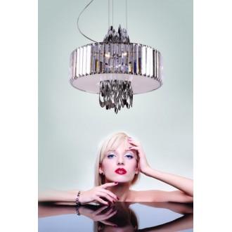 MAXLIGHT P0285 | Olimpic Maxlight luster svietidlo 5x E14 chróm, biela