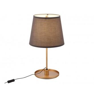 MAXLIGHT T0033 | SydneyM Maxlight stolové svietidlo 53cm prepínač na vedení otočné prvky 1x LED 600lm 3000K zlatý