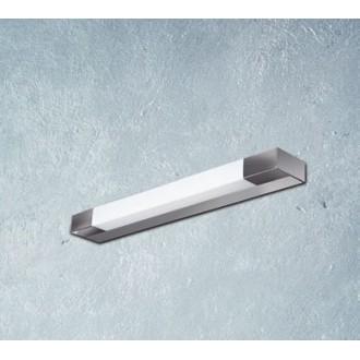 MAXLIGHT W0015 | Ren Maxlight stenové svietidlo 1x G5 / T5 2700K IP44 chróm, matný nikel