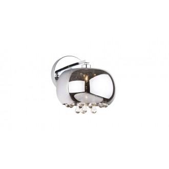 MAXLIGHT W0076-01D | MoonlightM Maxlight stenové svietidlo 1x G9 chróm, priesvitné