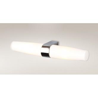MAXLIGHT W0080 | Badia Maxlight stenové svietidlo 2x E14 IP44 chróm, biela
