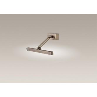 MAXLIGHT W0098 | Roma-Quadro Maxlight rameno stenové svietidlo otočné prvky 2x G9 antická meď