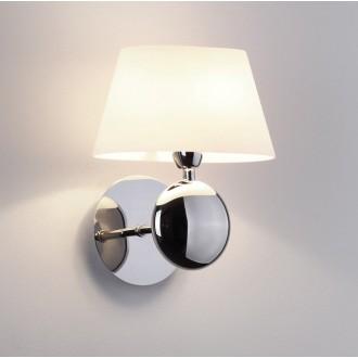 MAXLIGHT W0121 | Napoleon Maxlight rameno stenové svietidlo 1x G9 IP44 chróm, biela
