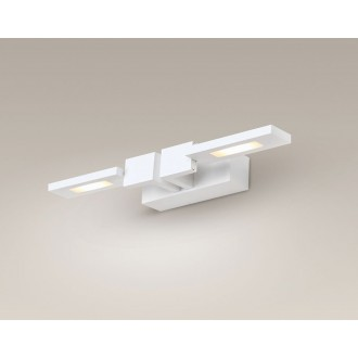 MAXLIGHT W0122 | Rico Maxlight stenové svietidlo otočné prvky 2x LED 500lm 3000K biela