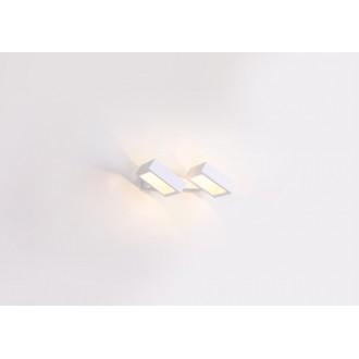 MAXLIGHT W0158 | Rubic Maxlight stenové svietidlo otočné prvky 2x LED 720lm 3000K biela