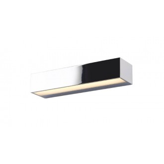 MAXLIGHT W0225 | Krom Maxlight stenové svietidlo 2x LED 516lm 3000K chróm