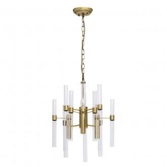 MW-LIGHT 285010703 | Alghero Mw-Light luster svietidlo 3x E14 1290lm zlatý, priesvitné