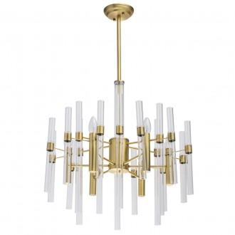MW-LIGHT 285010806 | Alghero Mw-Light luster svietidlo 6x E14 2580lm zlatý, priesvitné