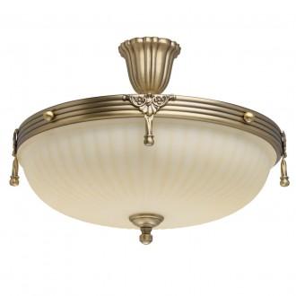 MW-LIGHT 317011504 | Aphrodite-MW Mw-Light stropné svietidlo 4x E14 2580lm antická meď, béž
