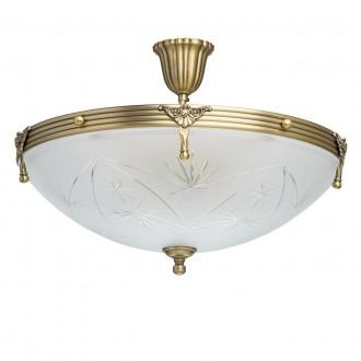 MW-LIGHT 317012905 | Aphrodite-MW Mw-Light stropné svietidlo 5x E14 3225lm matný zlatý, opál