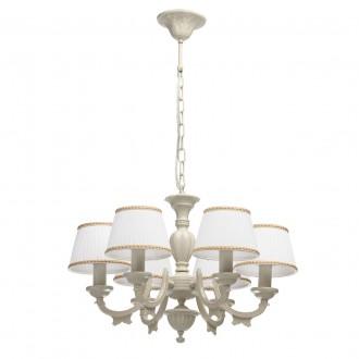 MW-LIGHT 450012506 | Ariadna Mw-Light luster svietidlo 6x E14 béž, farba slonoviny