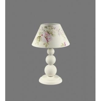 NAMAT 1203/9 | Atar Namat stolové svietidlo 52cm prepínač 1x E27 biela, viacferebné