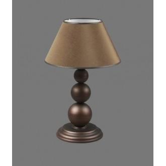 NAMAT 1205/3 | Bert Namat stolové svietidlo 52cm prepínač 1x E27 hnedá, biela