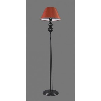 NAMAT 1210/11 | Fago Namat stojaté svietidlo 170cm prepínač 1x E27 čierna, červená, biela