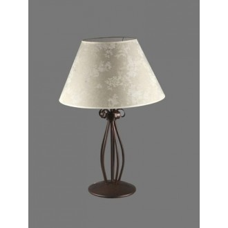 NAMAT 1211/8 | Boren Namat stolové svietidlo 62cm prepínač 1x E27 hnedá, viacferebné