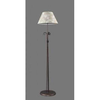 NAMAT 1212/8 | Boren Namat stojaté svietidlo 175cm prepínač 1x E27 hnedá, viacferebné