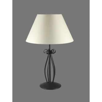 NAMAT 1213/1 | Eramis Namat stolové svietidlo 62cm prepínač 1x E27 biela, čierna