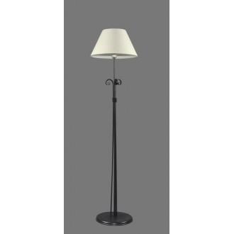 NAMAT 1214/1 | Eramis Namat stojaté svietidlo 175cm prepínač 1x E27 biela, čierna