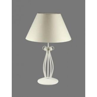 NAMAT 1219/1 | Gines Namat stolové svietidlo 62cm prepínač 1x E27 biela
