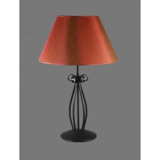 NAMAT 1225/11 | Tores Namat stolové svietidlo 62cm prepínač 1x E27 čierna, červená, biela