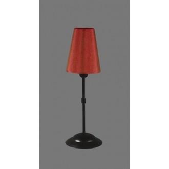 NAMAT 1231/11 | RadanN Namat stolové svietidlo 40cm prepínač 1x E14 čierna, červená