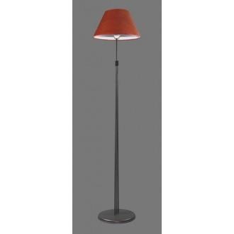 NAMAT 1232/11 | RadanN Namat stojaté svietidlo 175cm prepínač 1x E27 čierna, červená