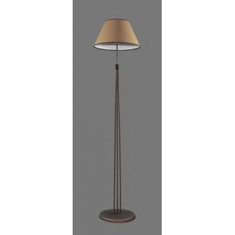 NAMAT 1234/5 | Teri Namat stojaté svietidlo 175cm prepínač 1x E27 hnedá, béž, biela