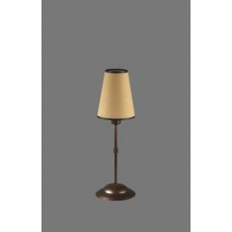 NAMAT 1235/5 | Irma Namat stolové svietidlo 40cm prepínač 1x E14 hnedá, béž, biela