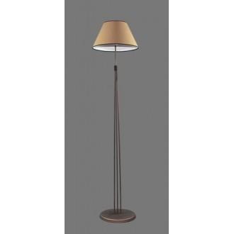 NAMAT 1236/5 | Irma Namat stojaté svietidlo 175cm prepínač 1x E27 hnedá, béž