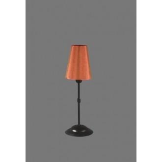 NAMAT 1239/11 | Redan Namat stolové svietidlo 40cm prepínač 1x E14 čierna, červená