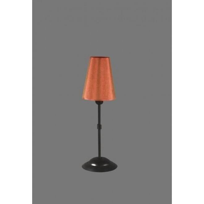 NAMAT 1239/11   Redan Namat stolové svietidlo 40cm prepínač 1x E14 čierna, červená, biela