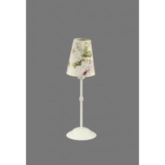 NAMAT 1241/9 | Salko Namat stolové svietidlo 40cm prepínač 1x E14 biela, viacferebné