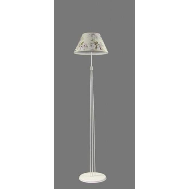 NAMAT 1242/9   Salko Namat stojaté svietidlo 175cm prepínač 1x E27 biela, viacferebné