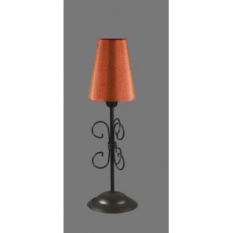 NAMAT 1243/11 | Santa Namat stolové svietidlo 35cm prepínač 1x E14 čierna, červená