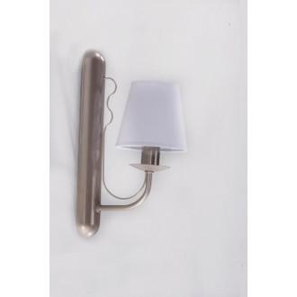 NAMAT 3276 | Fiora Namat rameno stenové svietidlo 1x E14 saténový, svetlomodrá
