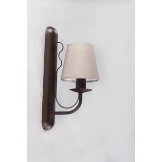 NAMAT 3281 | Fiora Namat rameno stenové svietidlo 1x E14 wenge, zemitý