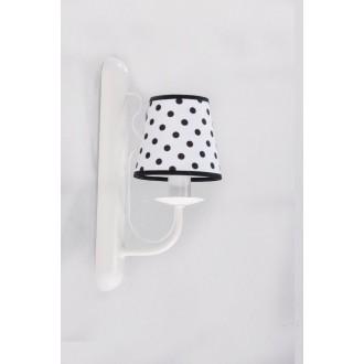 NAMAT 3286 | Fiora Namat rameno stenové svietidlo 1x E14 matný biely, biela, čierna