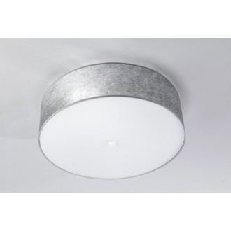 NAMAT 3592 | FlawiaN Namat stropné svietidlo 3x E27 sivá priesvitná, biela
