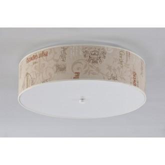 NAMAT 3605 | Garden_Walec Namat stropné svietidlo 4x E27 biela, béž, hnedá