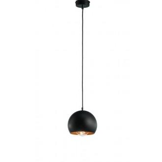 NAMAT 3831 | Fauna Namat visiace svietidlo 1x E27 matná čierna, mosadz