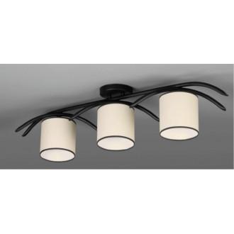 NAMAT 616 | Juvenia Namat stropné svietidlo 3x E27 čierna, krémové