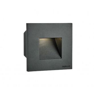 NORLYS 1340GR | Namsos Norlys zabudovateľné svietidlo 1x LED 352lm 3000K IP65 grafit