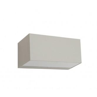 NORLYS 1511AL | Asker Norlys stenové svietidlo 1x LED 800lm 3000K IP65 hliník, morené