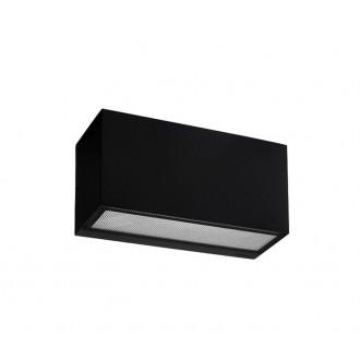 NORLYS 1513B   Asker Norlys stenové svietidlo 1x E27 IP65 čierna, morené