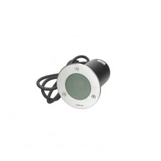 NORLYS 1556ST | Rena-NO Norlys zabudovateľné svietidlo Ø85mm 1x GU10 IP68 chrom, matné