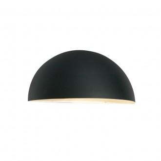 NORLYS 160B | Paris-NO Norlys stenové svietidlo 1x E27 IP43 čierna