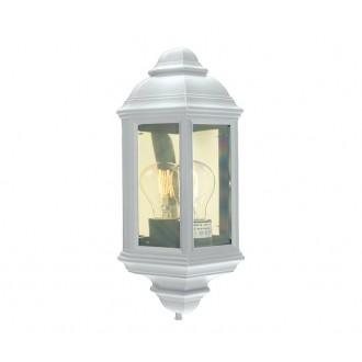 NORLYS 169W | Roma-NO Norlys stenové svietidlo 1x E27 IP54 biela, priesvitné