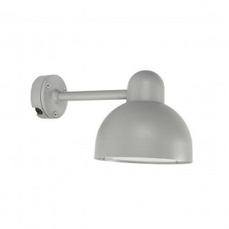 NORLYS 724AL | Koster Norlys rameno stenové svietidlo 1x E27 IP54 hliník